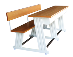Student Desk - Three Seater with Joint