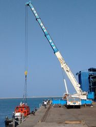 20 MT to 500 MT Cranes For Offshore & On Shore