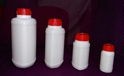 Triangle Shape HDPE Bottle with MC, Inner Plug and IS Caps