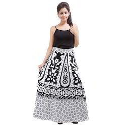 Womens Wrap Around Skirt