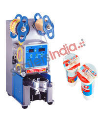 Automatic Cup Sealing Machine Table Top