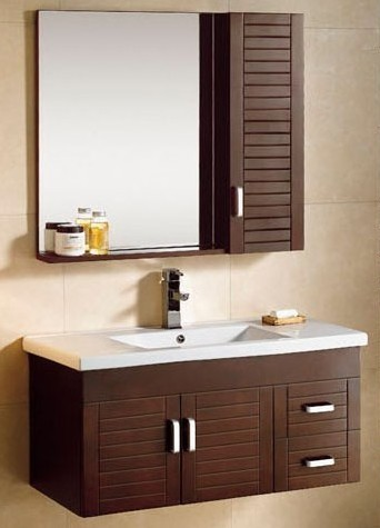 Merveilleux Wooden Bathroom Cabinet