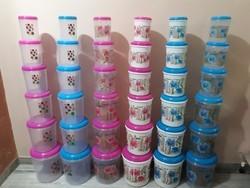 Storwell Plastic Container Set