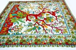 Indian Tapestry Tree Of Life Bedspread Wall Hanging