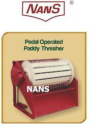 paddy thresher pedal operated