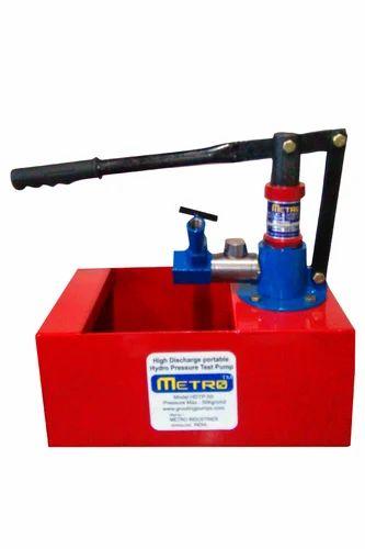 Hydrostatic Pressure Test Pumps