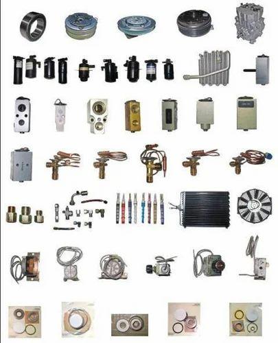 Car Air Condition Spare Parts Car Air Conditioner Spare
