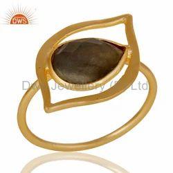 925 Silver Natural Gemstone Rings