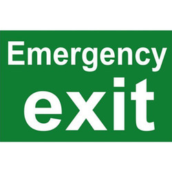Emergency Exit Boards