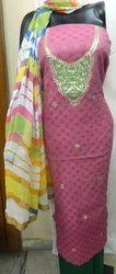 Gota Patti Suit Ladies Dress Material