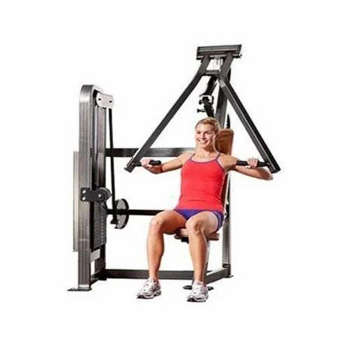 seated machine chest press