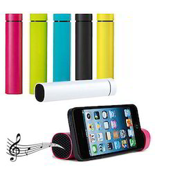 4000 mAh Power Bank with Built-in Speakers