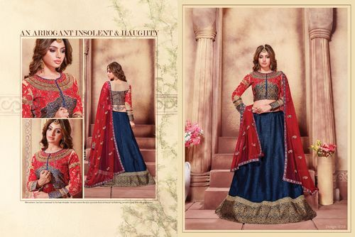 Designer Heavy Embroidered Lehngha Choli