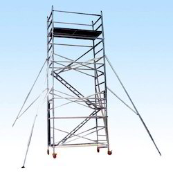 Aluminium Mobile Scaffold with Step