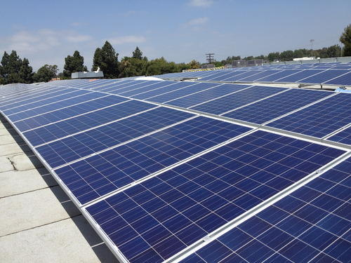PV Solar Rooftop Power Plant with 30% Subsidy