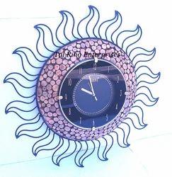 Sun Style Wall Clock