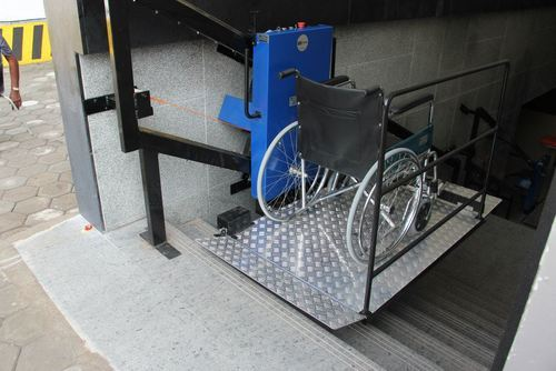 Battery powered wheelchair and backrest motorised Wheelchair lift motor