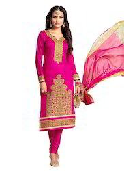 Ladies Pink Churidar Suit