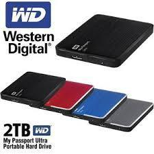 Wd 2tb My Passport With Software External HDD