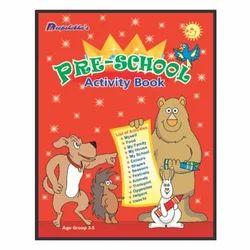 my pre school activity book