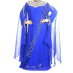 Blue Butterfly Kaftan