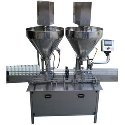 Auger Type Powder Filling Machine