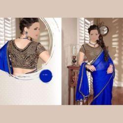 party wear ladies sarees