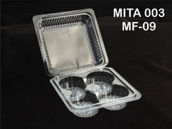 003-mf-09 4pcs Muffin Mita Folding Boxes