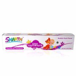 Smarth Kids Gel Bubble Gum Flavour Toothpaste 4.4 Oz -125g