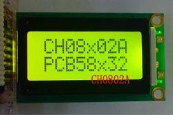 8x2 Character LCD Module - Yellow Green