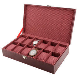 Watch Case - 12 - Maroon