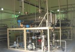 hydrogen gas plant by water electrolysis