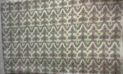 Ikat Design Block Printed Fabric