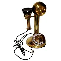 brass gandhi telephone