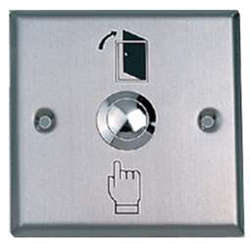 3 x 3 Stainless Steel Exit Switch