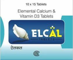 Calcium And Vitamin Tablet