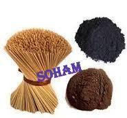 Agarbatti Mixing Powder and Bamboo Sticks