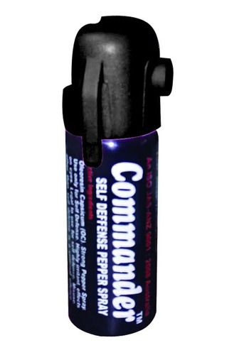 Commander Self Defense Pepper Spray