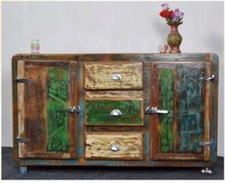 Recycled Wood Side Board - Recycled Wood Furniture