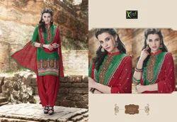 Casual Wear Ladies Patiala Suit