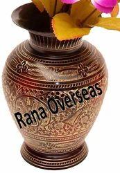 Traditional Brass Flower Vases