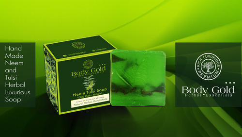 Luxurious Neem Tulsi Herbal Hand Made Soap