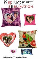 Sublimation Velvet Cushions