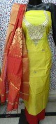 New Chanderi Gota Patti Suit