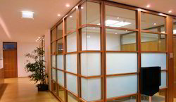 Office Wooden Partition Service