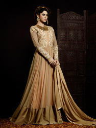 ladies bridal long gown
