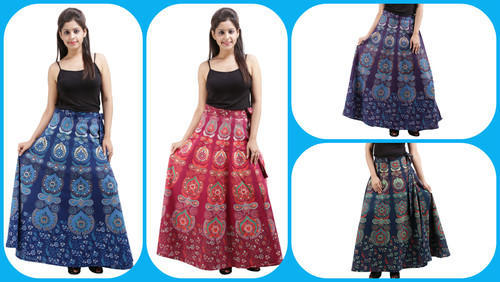 Girls Wraparound Skirt