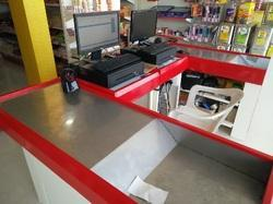 Check Out Cash Counter Table