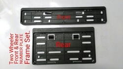 rto number plate frame