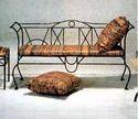 Wrought Iron Sofa Table